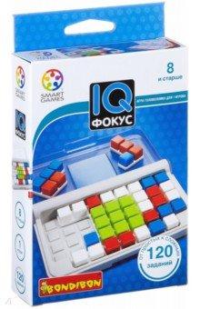 Игра логическая IQ-Фокус (2184ВВ/SG 422 RU)Другие настольные игры<br>Сфокусируйтесь на центральной части игрового поля, чтобы решить 120 заданий этой  IQ-головоломки. <br>Заполните сетку 10 разноцветными деталями головоломки таким образом, чтобы центральный квадрат соответствовал изображению в задании<br>Для детей от 8-ми лет.<br>Не рекомендуется детям до 3-х лет. Содержит мелкие детали.<br>Сделано в Китае.<br>