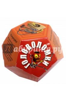 Игровой набор Додекаэдр. ОранжевыйГоловоломки<br>В наборе: 2 интересные головоломки - деревянная и металлическая. А также небольшая книга с разгадками.<br>Сюрприз! В каждом наборе дополнительно лежит деталь деревянной пирамиды. Купи 4 различных набора и сложи пирамиду!<br>Материал: бумага, металл, дерево, пластик, текстиль.<br>Игрушка предназначена для детей старше 3 лет.<br>Изготовлено в Китае.<br>