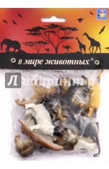 Игровой набор собак и кошек (12 предметов) (Т50535)Животный мир<br>Игровой набор: 12 предметов, 5 см.<br>Материал: пластмасса.<br>Предназначено для детей старше 3 лет.<br>Сделано в Китае.<br>