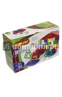 Конструктор Автодорога (35 элементов) (кр324)Конструкторы из пластмассы и мягкого пластика<br>Конструктор Bauer Автодорога - это увлекательная развивающая игра для детей от 3-х лет. Детали конструктора позволяют собрать различные по сложности трёхмерные объекты. <br>В процессе игры ребёнок изучает цвета, геометрические фигуры и пространственное моделирование. Конструктор способствует развитию воображения, совершенствует мелкую моторику рук, стимулирует творческую активность.<br>Конструктор Bauer Автодорога адаптирован к программам дошкольного образования и может быть использован как индивидуально, так и в коллективе. Детям младшего возраста при сборке может понадобиться помощь взрослых.<br>В наборе 35 элементов.<br>Материал: пластик.<br>Для детей от 3-х лет.<br>Не рекомендуется детям до 3-х лет. Содержит мелкие детали.<br>Сделано в России.<br>