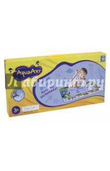 Коврик для рисования водой AquaArt (зеленый) (Т59440)Другие виды творчества<br>Игровой набор для детского творчества: коврик для рисования водой, водный маркер.<br>Размер коврика: 72х51см.<br>Материал коврика: нейлон 100%, наполнитель: губка, полиэтиленвинилацетат (PEVA). Материал водного маркера: пластмасса.<br>Не рекомендуется детям до 3 лет.<br>Сделано в Китае.<br>