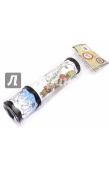 Калейдоскоп Сказочный город (42308)Оптические игрушки<br>Калейдоскоп игрушка детская СКАЗОЧНЫЙ ГОРОД  из плотного картона и полипропилена с внутренними элементами из ПВХ / 20х5,6<br>Сделано в Китае<br>