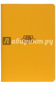Блокнот Yellow (нелинованный, A5, 40 листов) (402724)Блокноты большие нелинованные<br>Классический однотонный блокнот.<br>Формат А5 (138х200 мм).<br>40 листов без линовки, кремовая бумага 80 г/м2.<br>Крепление на нитку.<br>Обложка из плотной бумаги 270 г/м2.<br>Собрано вручную в Москве.<br>