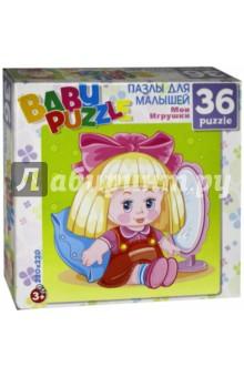 Пазл-36 Кукла (6259)Пазлы (15-50 элементов)<br>Собирая пазл, ребёнок в ненавязчивой игровой форме может развивать моторику рук и образное мышление. Составление пазла станет развивающим досугом для малыша и подарит хорошее настроение.<br>Пазл состоит из 36 элементов.<br>Размер пазла: 22х22 см.<br>Материал: бумага, картон.<br>Для детей старше 3-х лет. <br>Не рекомендуется детям до 3-х лет. Содержит мелкие детали.<br>Сделано в России.<br>