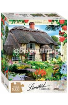 Puzzle-1000 Дом, милый дом (79801)Пазлы (1000 элементов)<br>На картинке представлен уютный домик в окружении аккуратного сада. Яркое синее небо, голубки на крыше, а внутри, наверное, вкусно пахнет булочками с корицей. Такой дом многие видят в мечтах или снах. Соберите же его быстрее!<br>Пазл необычен тем, что все детали в нём уникальны по форме. Для каждой - строго своё место на общей картине. Убедитесь в этом сами!<br>Limited Edition - серия пазлов с уникальной формой деталей.<br>Тираж ограничен. <br>Пазл состоит из 1000 элементов.<br>Размер: 68х48 см.<br>Материал: картон.<br>Рекомендуется детям старше 7-ми лет.<br>Запрещено детям до 3-х лет. Содержит мелкие детали.<br>Сделано в России.<br>
