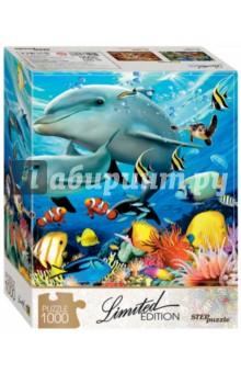Puzzle-1000 Подводный мир (79803)Пазлы (1000 элементов)<br>Яркая жизнь подводного кораллового рифа навевает мысль о путешествии к теплым морям. Соберите пазл, и ваша мечта станет чуточку ближе!<br>Пазл необычен тем, что все детали в нём уникальны по форме. Для каждой - строго своё место на общей картине. Проверьте сами!<br>Limited Edition - серия пазлов с уникальной формой деталей.<br>Тираж ограничен. <br>Пазл состоит из 1000 элементов.<br>Размер: 68х48 см.<br>Материал: картон.<br>Рекомендуется детям старше 7-ми лет.<br>Запрещено детям до 3-х лет. Содержит мелкие детали.<br>Сделано в России.<br>