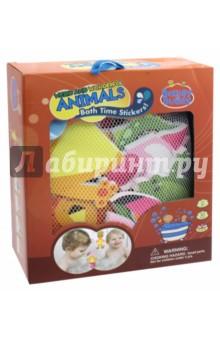 Стикеры для ванны Забавные животные (BB011)Игрушки для ванной<br>Игрушки - предметы игрового обихода, в том числе предназначенных для игры в ванной, в комплектах с отдельными предметами, без механизмов.<br>Для детей от 3-х лет. <br>Сделано в Китае.<br>