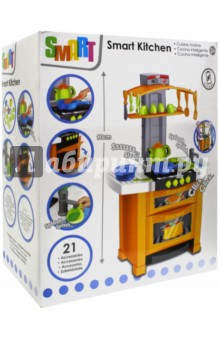 Электронная кухня Smart (1684311.00)Бытовая техника<br>Электронная кухня Smart<br>Состав: полимерный материал с элементами из металла..<br>Для детей от 3-х лет.<br>Сделано в Китае<br>