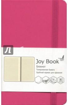 Блокнот Joy Book (96 листов, А6-, искусственная кожа, твердый переплет, вишневый) (БДБЛ6962236)Блокноты средние Линейка<br>Блокнот.<br>96 листов<br>Формат: А6-.<br>Блок: тонированный офсет, плотность 70г/м2.<br>Линовка: линия.<br>Крепление: книжное (прошивка).<br>Твердый переплет из искусственной кожи.<br>Скругленные уголки, ляссе, удобный карман для хранения, закрывается на резинку.<br>Сделано в Китае.<br>