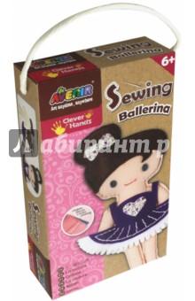 Набор для шитья Балерина (CH1382)Шитье, вязание<br>Набор для творчества, позволяющий ребенку самостоятельно, своими руками, сшить забавную мягкую игрушку. Подробная иллюстрированная инструкция поможет разобраться во всех тонкостях рукоделия, а готовые заготовки из ткани и войлока упростят задачу. <br>В наборе: вырезанные заготовки из ткани, вырезанные заготовки из войлока, материал для набивки, безопасная игла, цветная пряжа, инструкция.<br>Размер готовой игрушки: 22х14 см.<br>Для детей от 6-ти лет.<br>Не предназначено для детей младше 3-х лет! Набор содержит мелкие детали, которые представляют опасность при попадании в дыхательные пути ребенка.<br>Сделано в Китае.<br>