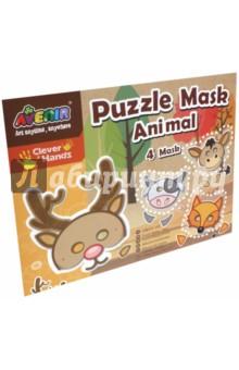 Набор Создай маску животного (CH1053)Гравюры<br>Игровой набор для детского творчества из картона.<br>В наборе: 4 маски, 1 лист с наклейками, 4 эластичные резинки, 1 двухсторонний скотч.<br>Не предназначено для детей младше 3 лет.<br>Сделано в Китае.<br>