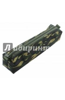 Пенал-косметичк Камуфляж (850933)Пеналы-косметички<br>Пенал.<br>1 отделение на молнии.<br>Материал: полиэстр.<br>Сделано в России.<br>