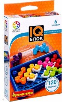 Игра логическая IQ-Блок (1354ВВ/SG 466 RU)Обучающие игры<br>В этой интересной логической головоломке стены не являются ограничениями! Наоборот, они помогут вам найти решение. Стены являются неподвижными частями на игровом поле, и не сдвигая их, вам предстоит заполнить свободное место яркими деталями головоломки в соответствии с заданиями из брошюры. Каждое задание имеет только одно решение, и пройдя все уровни от новичка к эксперты, вы повысите свой уровень IQ! Игра очень компактна, поэтому ее можно взять с собой в дорогу или в путешествие, где она станет замечательной альтернативой играм на смартфоне или планшете. Развивайте свой ум, становитесь счастливее и уверенней в себе, решая интересные логические задачи! Игра рассчитана на одного игрока. Эта игра поможет проверить и улучшить способности вам, вашим близким и друзьям.<br>В состав игры входят игровое поле, буклет с заданиями пяти уровней сложности, четыре игровых элемента-стены, и семь цветных деталей.<br>Для детей от 6-ти лет.<br>Не рекомендуется детям до 3-х лет. Содержит мелкие детали.<br>Сделано в Китае.<br>