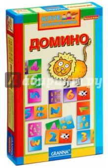 Игра настольная Домино (ВВ0997)Домино<br>Домино для дошкольников. Эта игра помогает малышам познакомиться с цифрами и быстро научиться считать. На карточках домино с одной стороны указана цифра, с другой нарисованы животные, которых надо сосчитать. Игрок кладет карточку, чтобы она соответствовала открытой, например, к двойке можно положить другую двойку или двух нарисованных слоников. Все карточки сделаны из качественного картона с прекрасной многоцветной полиграфией. Эта игра позволит ребенку быстрее развиваться и приобретать новые полезные навыки. А еще карточки с яркими и выразительными цифрами и зверюшками такие красивые, что ребенок непременно захочет сделать их участниками и других своих игр, где тоже понадобится что-то сосчитать.<br>В наборе: 28 карточек, мозаика, инструкция.<br>Для детей 4-8 лет.<br>Не рекомендуется детям до 3-х лет. Содержит мелкие детали.<br>Сделано в Польше.<br>