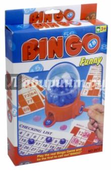 Игра настольная Бинго-лото (13112)Лото<br>Игра настольная Бинго-лото.<br>В наборе: Бинго-машина, 90 фишек с номерами, 40 карточек с номерами, 120 фишек, инструкция. <br>Изготовлено из пластмассы.<br>Для детей старше 3-х лет. Содержит мелкие детали.<br>Сделано в Китае.<br>