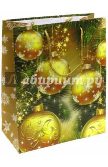 Пакет новогодний ламинированный (264х327х136 мм) (LP 3074)Подарочные пакеты<br>Подарочный пакет станет незаменимым дополнением к выбранному подарку. Для удобной переноски на пакете имеются две ручки.<br>Подарок, преподнесенный в оригинальной упаковке, всегда будет самым эффектным и запоминающимся. Окружите близких людей вниманием и заботой, вручив презент в нарядном, праздничном оформлении.<br>Размер: 264х327х136 мм.<br>Ламинированный, тканевые ручки.<br>Сделано в Китае.<br>