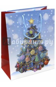 Пакет новогодний ламинированный (264х327х136 мм) (L-3D 054)Подарочные пакеты<br>Подарочный пакет станет незаменимым дополнением к выбранному подарку. Для удобной переноски на пакете имеются две ручки.<br>Подарок, преподнесенный в оригинальной упаковке, всегда будет самым эффектным и запоминающимся. Окружите близких людей вниманием и заботой, вручив презент в нарядном, праздничном оформлении.<br>Размер: 264х327х136 мм.<br>Ламинированный, тканевые ручки.<br>Сделано в Китае.<br>