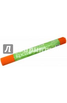 Бумага креповая флористическая, ярко-оранжевая (2-052/20)Другие виды цветной бумаги<br>Бумага креповая флористическая в рулоне.<br>Цвет: ярко-оранжевый<br>Размер: 50х250 см.<br>Плотность: 90 г/м2<br>