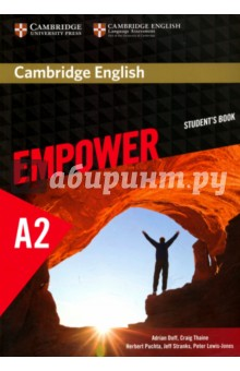 Cambridge English Empower Elem SBАнглийский язык<br>Cambridge English Empower is a general adult course that combines course content from Cambridge University Press with validated assessment from the experts at Cambridge English Language Assessment. The Elementary Students Book gives learners an immediate sense of purpose and clear learning objectives. It provides core grammar and vocabulary input alongside a mix of skills. Speaking lessons offer a unique combination of functional language, pronunciation and conversation skills, alongside video filmed in the real world. Each unit ends with a consolidation of core language from the unit and focuses on writing within the context of a highly communicative mixed-skills lesson. This version of the Students Book does not provide access to the video, assessment package and online workbook. A version with full access is available separately.<br>