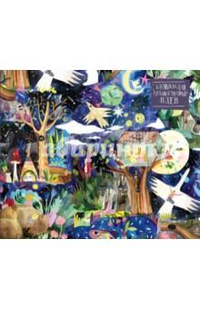 Блокнот для художественных идей Сказочный лес, нелинованныйБлокноты (нестандартный формат)<br>Внезапно посетила муза творчества и захотелось что-то нарисовать? Откройте блокнот для рисования, он станет вашим проводником в мир вдохновения и фантазии. Станьте новым Ван Гогом, Шагалом, Кандинским и создавайте свои шедевры. Хорошее настроение будет обеспечено, а твёрдый переплёт сделает процесс творения комфортным в любом месте. Фиксируйте свои идеи и впечатления в виде эскизов, набросков. На плотной бумаге можно рисовать в любой технике, от акварели до графики. Накормите блокнот своими идеями, самовыражайтесь и творите, потому что это ваша территория свободного творчества.<br>