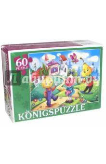 Puzzle-60 Сказка №49 (ПК60-5798)Пазлы (54-90 элементов)<br>Мы производим пазлы для детей на протяжении многих лет. Наши пазлы соответствуют важным критериям - высокое качество материалов, крепкая сцепка, яркая полиграфия и идеальная форма элементов, а развивающую роль пазлов трудно переоценить - это занятие улучшает внимание, память, мелкую моторику и цветовое восприятие!<br>Количество элементов: 60.<br>Размер собранной картинки: 340х240 мм.<br>Материалы: картон.<br>Упаковка: картонная коробка.<br>Для детей от 3-х лет. Содержит мелкие детали.<br>Сделано в России.<br>
