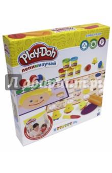 Набор Буквы и язык (C3581)Знакомство с буквами. Азбуки<br>Серия Play-Doh Лепи и изучай включает легкие для использования инструменты и игры с инструкцией, которые содействуют практическому и творческому обучению!<br>В комплекте: 33 букв-штампов, стилус, валик, 2 двусторонних коврика, руководство по совместной игре и 6 банок массы для лепки Play-Doh.<br>Для детей от 2 лет.<br>Сделано в Китае.<br>