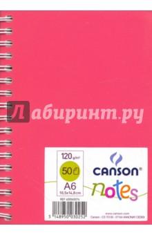 Блокнот для зарисовок, А6, 50 листов, Цветное ассорти (400065074)Блокноты средние нелинованные<br>Блокнот для зарисовок<br>Без линовки<br>Формат: А6<br>Крепение: двойная евроспираль<br>Количество листов: 50<br>Сделано во Франции<br>