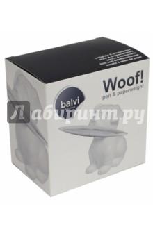 Ручка и пресс-папье Woof! (белый) (26727)Подарочные бизнес-наборы<br>Набор ручки и пресс-папье.<br>Производитель: Испания.<br>