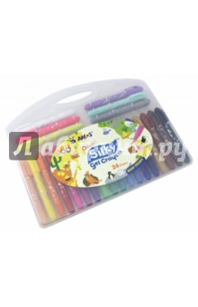 Набор гелевых карандашей 3в1, 24 цвета (22947)Цветные карандаши более 20 цветов<br>Карандаши цветные гелиевые.<br>24 цвета, 3 в 1.<br>Не пачкают руки, экономичные, не токсичные, без запаха.<br>Водорастворимые.<br>Для использования по бумаге и холсту.<br>Упаковка: пластиковая коробка.<br>Сделано в Корее<br>