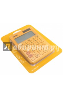 Калькулятор настольный, 12-разрядный, оранжевый (MS-20UC-RG-S-EC)Калькуляторы<br>Калькулятор электронный.<br>12 разрядов, двойное питание, расчет налогов, расчет времени, независимая память, клавиша быстрой коррекции, большой дисплей, вычисление квадратного корня.<br>Сделано в Китае.<br>