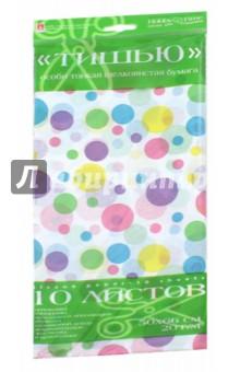 Бумага цветов, 10 листов,ТИШЬЮ, ГОРОШЕК. ЦВЕТНОЙ (2-145/13)Бумага цветная односторонняя<br>Бумага цветная, односторонняя.<br>Формат: 50х66 см.<br>Количество листов: 10.<br>Производство: КНР.<br>
