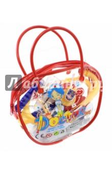 Набор доктора (11 предметов) (501-1)Играем в профессии<br>Вашему вниманию предлагается набор доктора в сумке.<br>11 предметов.<br>Материал: пластмасса.<br>Возраст: 3+<br>Сделано в Китае.<br>