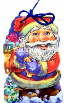 С Новым годом. Дед МорозСказки и истории для малышей<br>Книжки этой серии крепкие и прочные. Плотные странички удобно листать даже самым маленьким ручкам. Книжки серии С Новым годом! (на шнурке) выглядят как настоящие новогодние персонажи: Дед Мороз, Снегурочка и другие... Они расскажут Вашему малышу стишки про свои приключения и станут для него добрыми друзьями.<br>