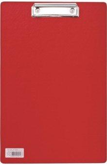 Доска-планшет Comfort с верхним прижимом, красная (222658)Папки с зажимами, планшеты<br>Доска-планшет BRAUBERG Comfort с верхним прижимом А4, 23*35см, картон/ПВХ, РОССИЯ, КРАСНАЯ.<br>