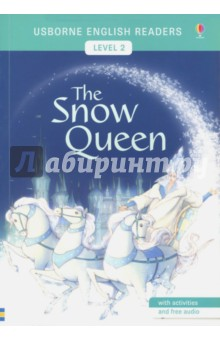 Usborne English Readers. The Snow Queen. Level 2Литература на иностранном языке для детей<br>From the classic story by Hans Christian Andersen. Kay and Gerda are childhood friends, but one day Kay is carried off by the Snow Queen. Gerda goes in search of him, helped by a friendly crow, a princess, a robber girl and a reindeer, until finally she must cross the ice alone to rescue her friend. The Usborne English Readers series is a new range of graded readers in simplified English for younger learners. They include activities, glossaries and a full audio recording of the text in both British English and American English.<br>