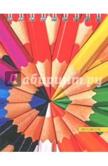 Скетчбук Любимая палитра (80 листов, А6, евроспираль) (ТС6804489)Блокноты средние нелинованные<br>Скетчбук.<br>Формат: А6.<br>Количество листов: 80.<br>Бумага: офсет.<br>Крепление: спираль.<br>Обложка: твердая.<br>Сделано в России.<br>