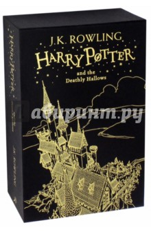 Harry Potter and the Deathly HallowsЛитература на английском языке для детей<br>A gorgeous gift edition of J.K. Rowlings Harry Potter and the Deathly Hallows, with line art by Jonny Duddle etched in foil on the cover and slipcase - the perfect present for Potter fans old and new.<br>Give me Harry Potter, said Voldemorts voice, and none shall be harmed. Give me Harry Potter, and I shall leave the school untouched. Give me Harry Potter, and you will be rewarded.<br>As he climbs into the sidecar of Hagrids motorbike and takes to the skies, leaving Privet Drive for the last time, Harry Potter knows that Lord Voldemort and the Death Eaters are not far behind. The protective charm that has kept Harry safe until now is broken, but he cannot keep hiding. The Dark Lord is breathing fear into everything Harry loves, and to stop him Harry will have to find and destroy the remaining Horcruxes. The final battle must begin - Harry must stand and face his enemy …<br>This gift edition hardback, presented in a beautiful foiled slipcase decorated with brand new line art by Jonny Duddle, will delight readers as they follow Harry in the epic conclusion of J.K. Rowlings record-breaking, multi-award-winning series.<br>