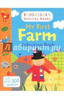 My First Farm Colouring Book (with stickers)Изучение иностранного языка<br>Have fun on the farm with this amazing colouring book!<br>Colour in cats, dogs, horses, pigs and more. Also includes loads of stickers for hours of fun!<br>Bloomsbury Activity Books provide hours of colouring, stickering and activity fun for boys and girls alike. Every book includes enchanting, bright and beautiful illustrations which children and parents will find very hard to resist. Perfect for providing entertainment at home or on the move!<br>