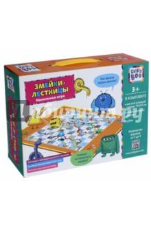 Напольная игра Змейки-лестницы (68096)Другие настольные игры<br>Игрушка развивающая.<br>В комплекте: мягкий игровой коврик 70х54 см, фишки четырех цветов, кубик.<br>Изготовлено из пластмассы и полимерных материалов.<br>Для детей от 3 лет.<br>Сделано в Китае.<br>
