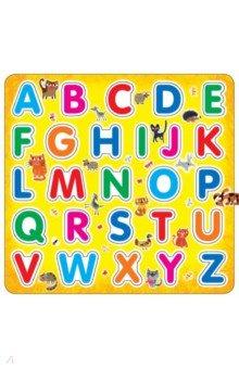 Английский алфавит на магнитахБуквы на магнитах<br>Набор Английский алфавит - это лёгкий, но очень эффективный способ выучить английские буквы. <br>Яркие эргономичные буквы на магнитах созданы специально для детских ручек и хорошо крепятся, например, на холодильник. С этим набором вы сможете весело и быстро научить малыша английским буквам, а потом и английским словам! Такие занятия развивают речь, мелкую моторику, координацию движений и пространственное мышление.<br>Для дошкольного возраста.<br>Произведено: Китай.<br>