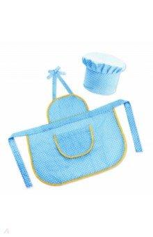 """Набор """"Поварской колпак и фартук"""" (бирюзовый) (3016/4)"""