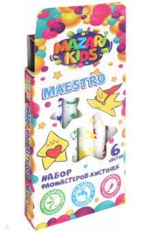 "Фломастеры-кисти ""Maestro"" (6 цветов) (M-5068- 6)"