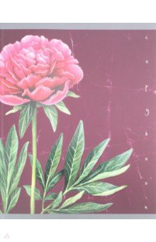 Тетрадь 48 листов, Изящный гербарий, 5 видов (ТКФЛ 485743)