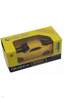 "Машина металлическая ""Chevrolet Camaro"" (1:64, желтый) (344004SM)"