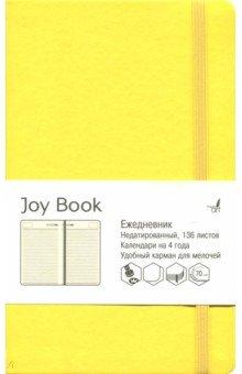 """Ежедневник недатированный """"Joy Book"""" (А 5, 136 листов, лимонный) (ЕКДБ 51913604)"""