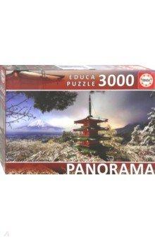"""Пазл-3000 """"Гора Фудзи и пагода Чурейто"""" (18013)"""