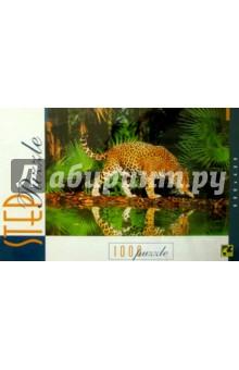 Step Puzzle-1000 79011 Леопард у воды
