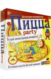 """Напольная игра 2 в 1 """"Пицца Парти"""" (L-149)"""