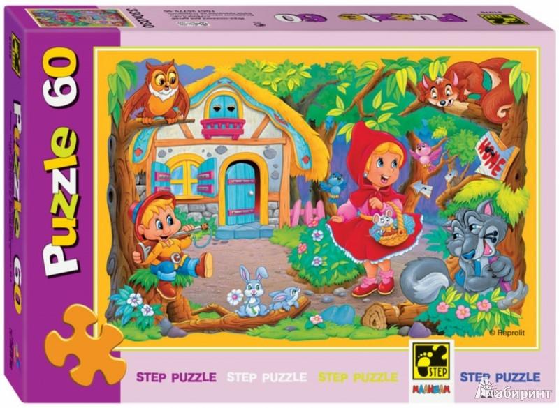 Иллюстрация 1 из 6 для Step Puzzle-60  Красная шапочка (81016) | Лабиринт - игрушки. Источник: Лабиринт