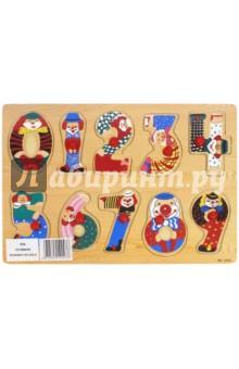 Развивающая деревянная игра Цифры (D26)Сборные 2D модели и картинки из дерева<br>Развивающая деревянная игра Цифры.<br>Игрушка предназначена для детей старше 3-х лет. <br>Сделано в Китае.<br>